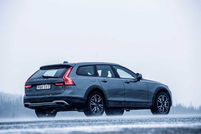 Hotel Get Away Lodge Suede V90 Cross Country Volvo
